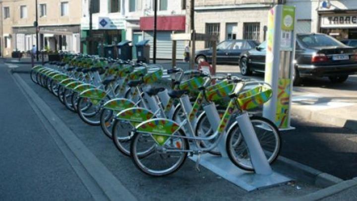 κοινοχρηστα ποδηλατα